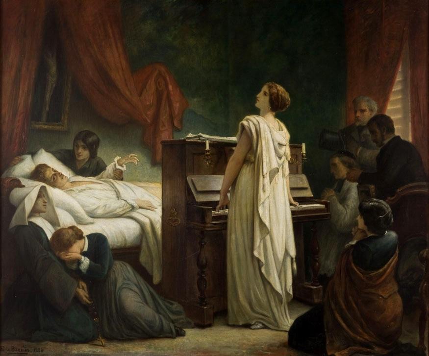 Frideric Chopin Death