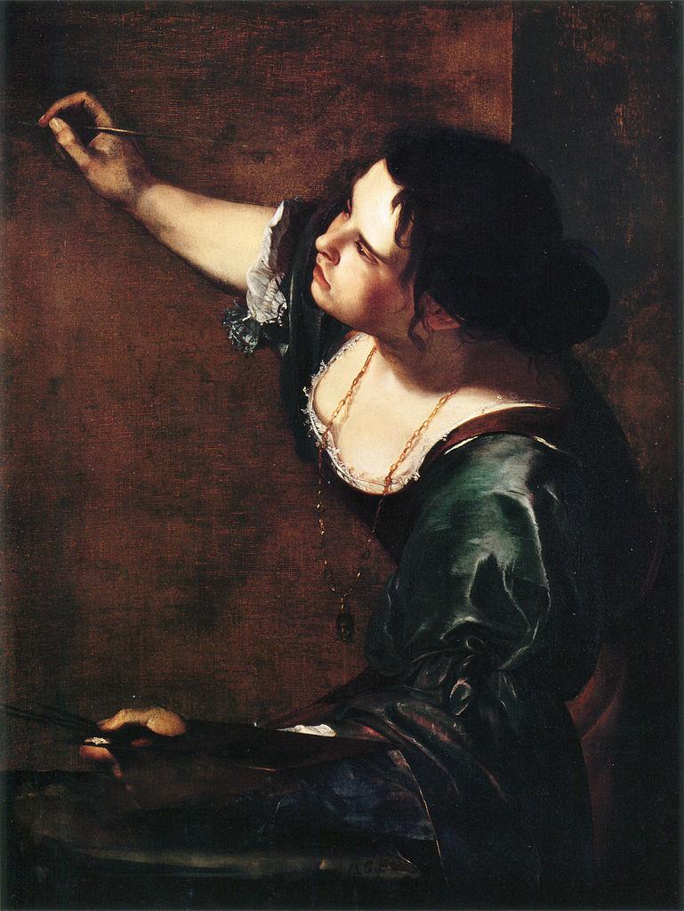 Artemisia Gentileschi, Auto retrato como alegoria da pintura
