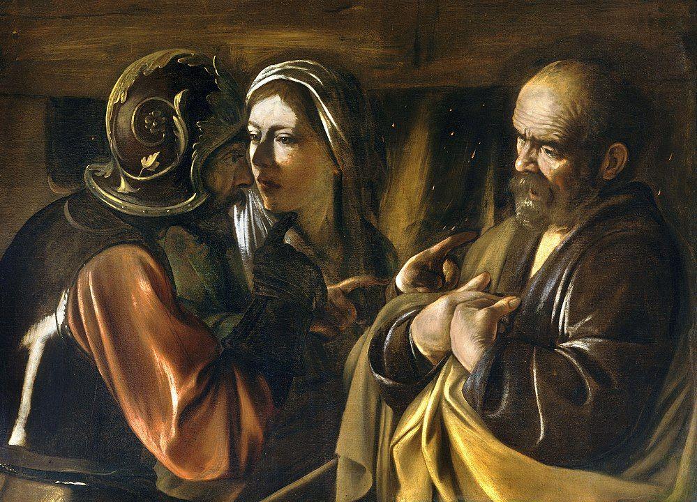 A Negação de São Pedro, c. 1610. Metropolitan Museum of Art, Nova York.