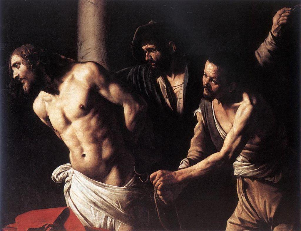 Flagelação de Cristo, c. 1607. Museu de Belas Artes de Rouen, França