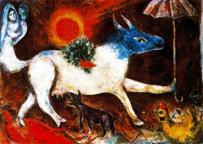 Vaca com sombrinha, 1946. The Metropolitan Museum of Art, Nova York