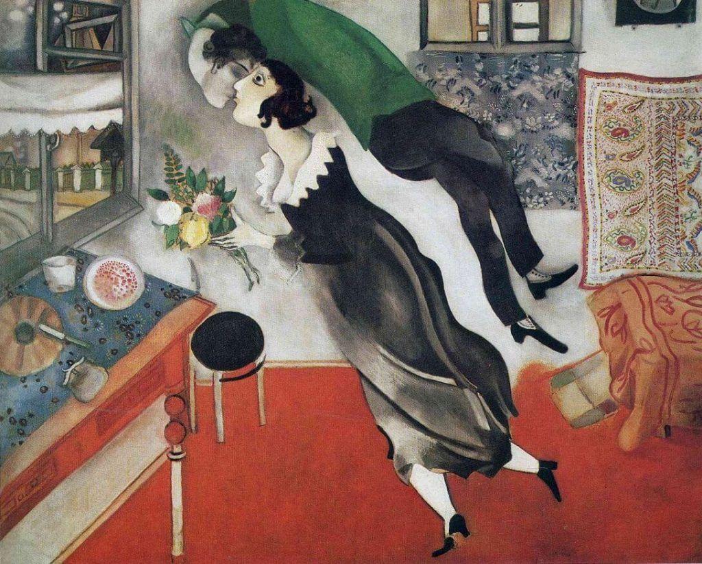 O Aniversário, 1915. Museum of Modern Art (MoMA), Nova York. (Crédito de imagem: Wikimedia Commons)