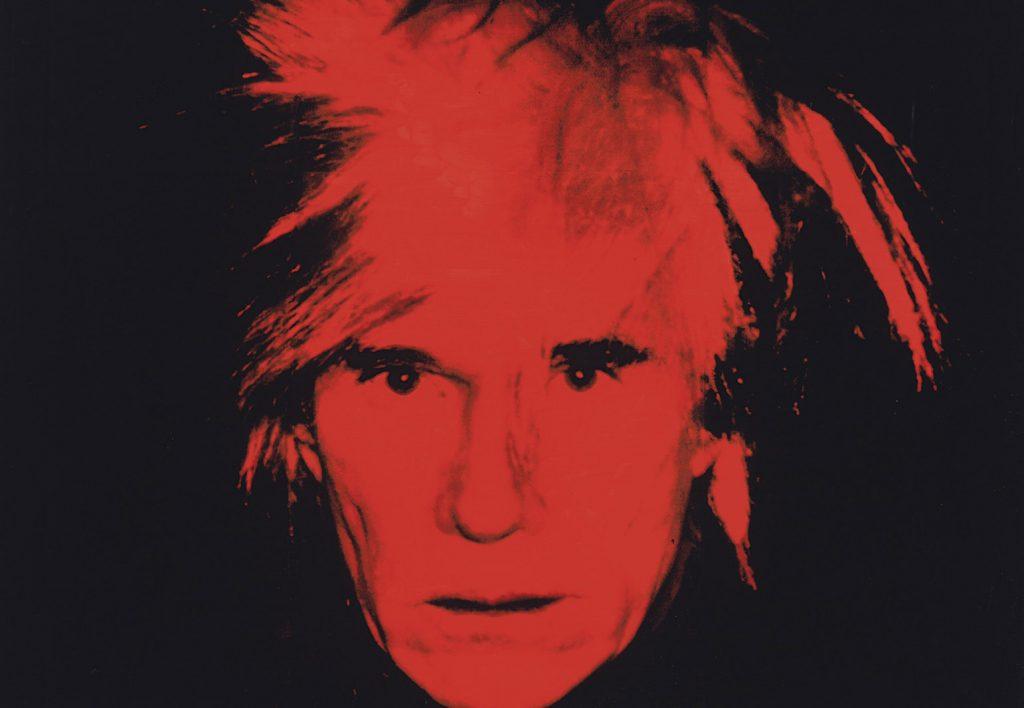 "Andy Warhol, ""Autorretrato"", 1986. Tate Modern, London."