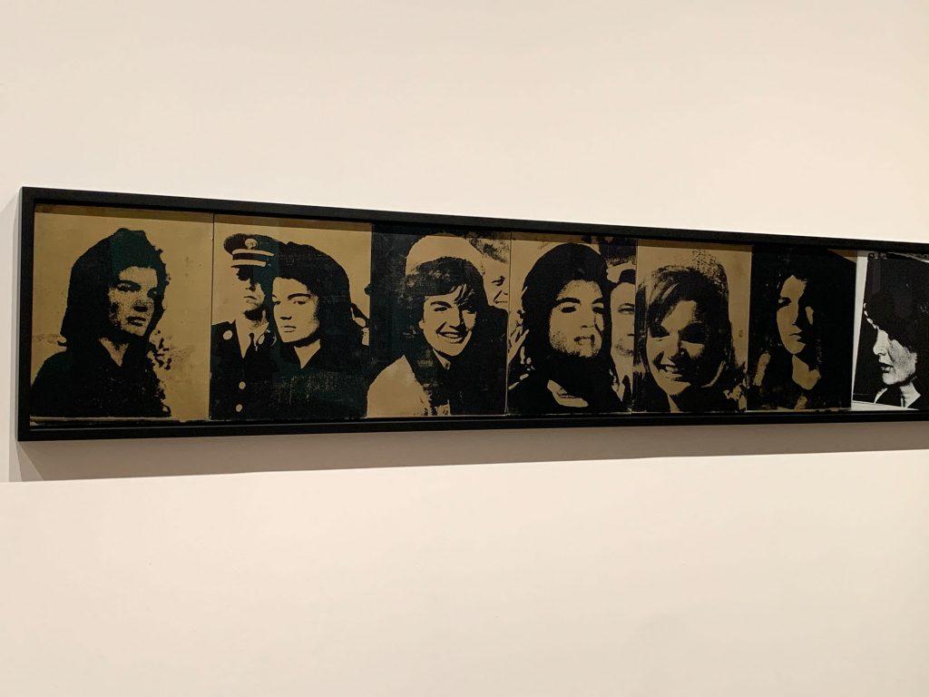 Andy Warhol, Jackie Frieze, 1964. Exposição na Tate Modern.