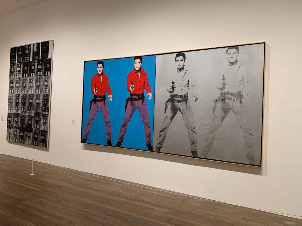 Andy Warhol, Elvis I e II, 1964. Exposição na Tate Modern.