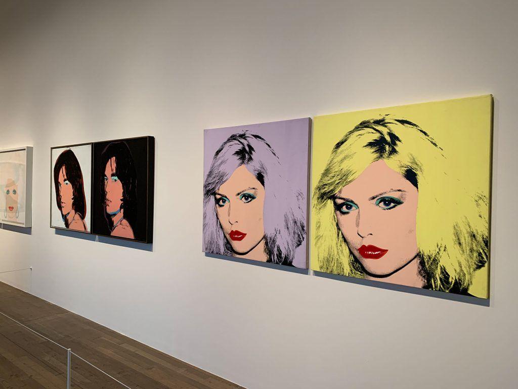Andy Warhol, Debbie Harry. Exposição na Tate Modern.