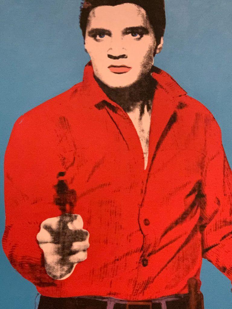 Andy Warhol, Elvis I e II, 1964. Detalhe.