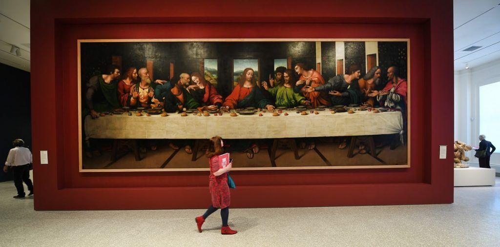 Obra exibida na Royal Academy of Arts, em Londres.