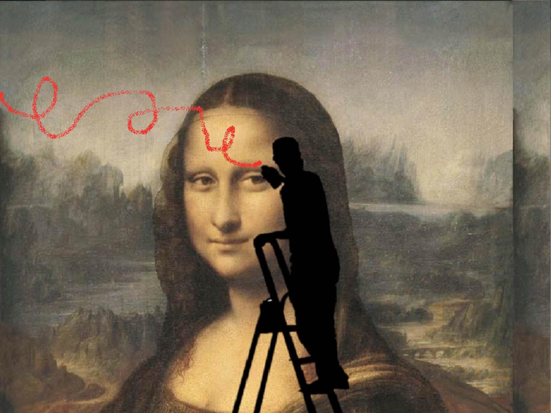 Monalisa: arte sob ataque