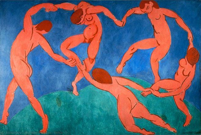 A dança (II), 1909-10. Museu Hermitage, São Petersburgo.